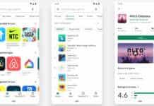 Google Play Store Redesigned Hindi